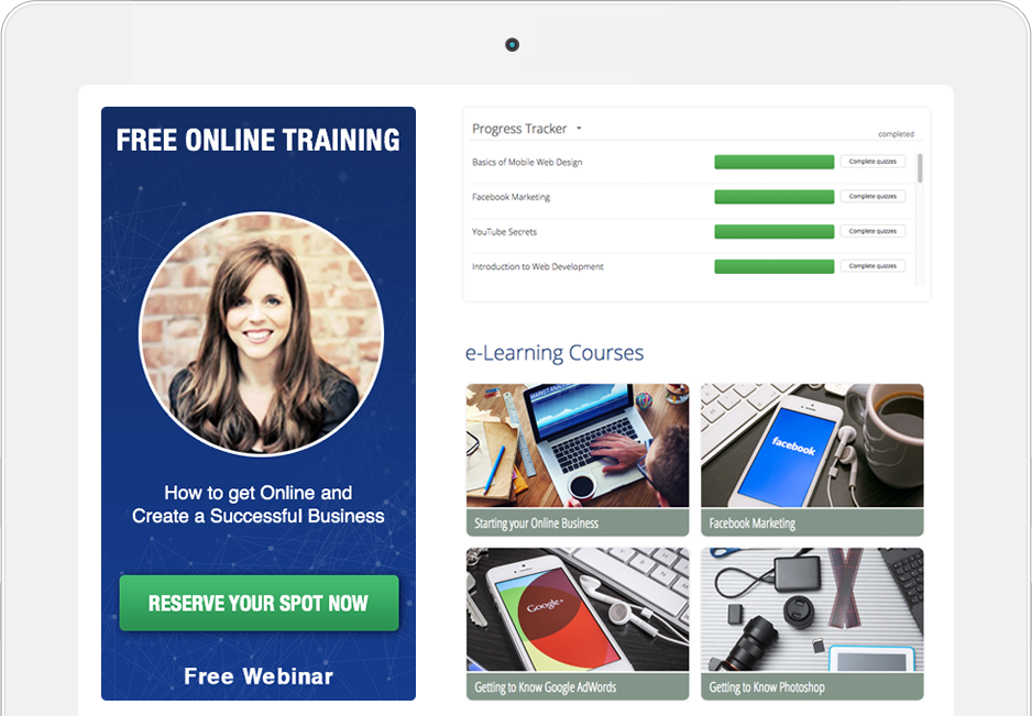 Bookmark eLearning courses e-learning SEO Online Marketing lessons
