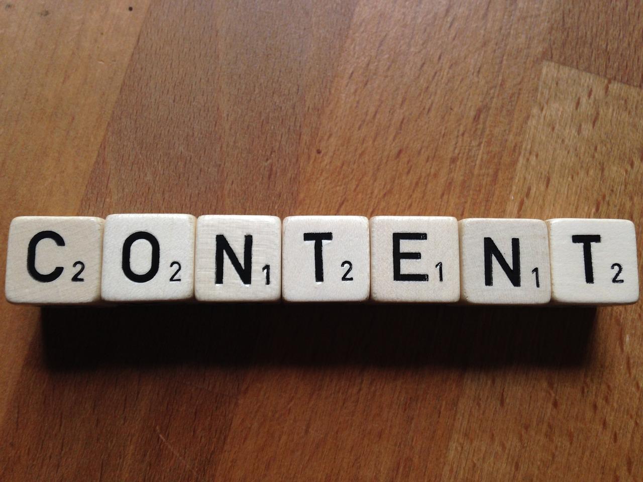 Focus on creating brilliant content