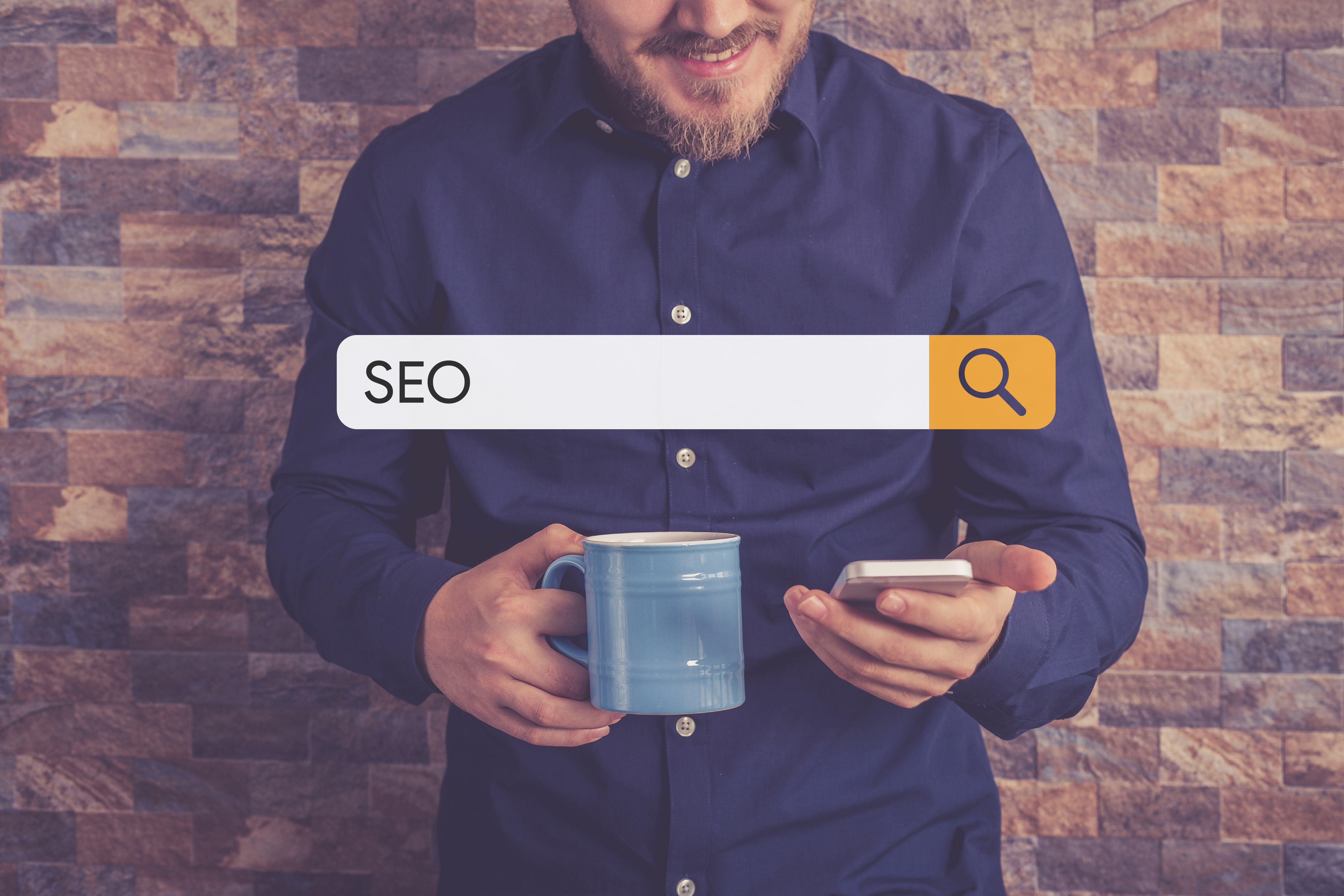 guy doing an seo search