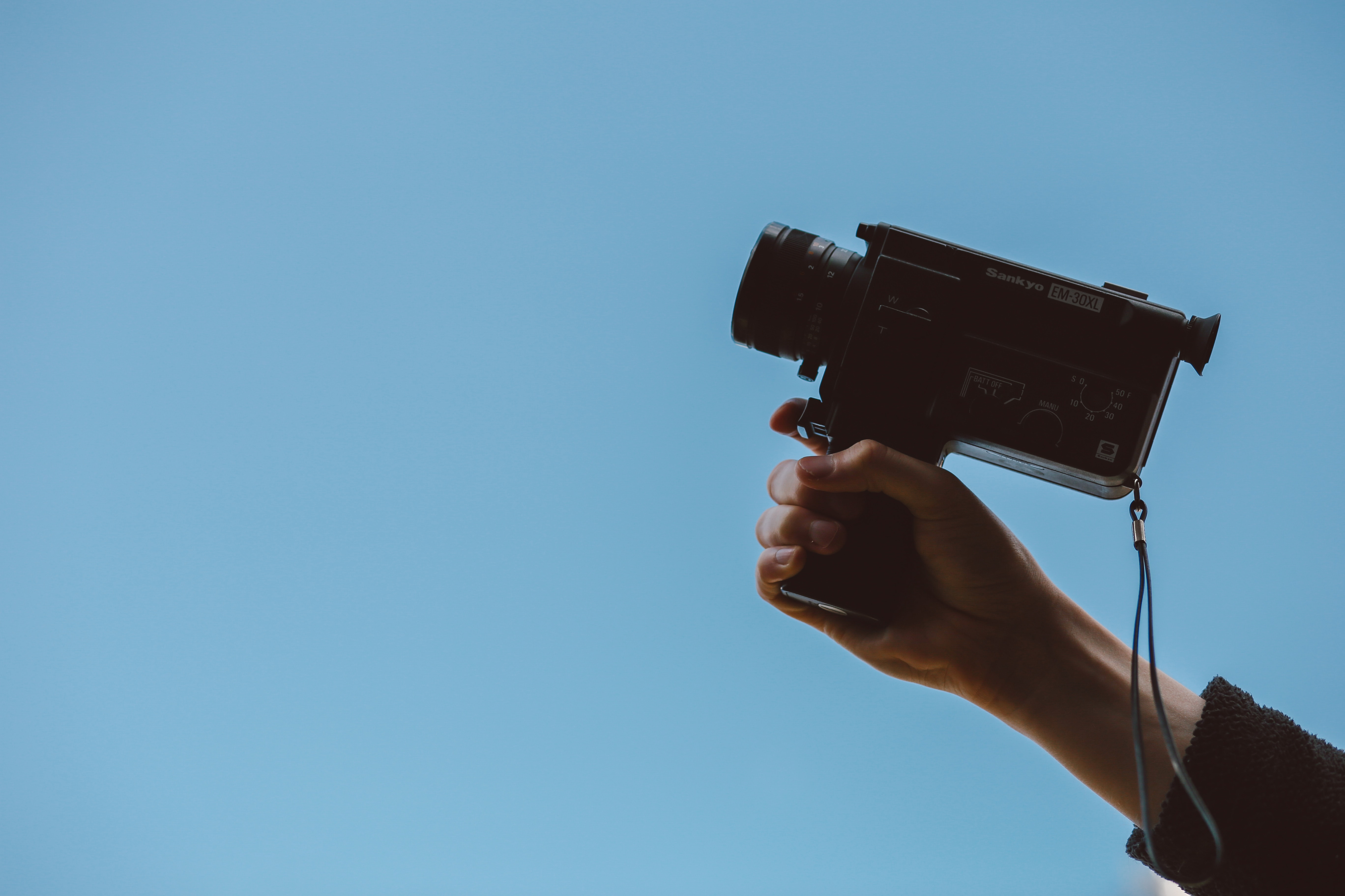 filming your company marketing video