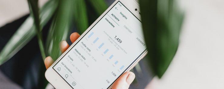 instagram analytics on android