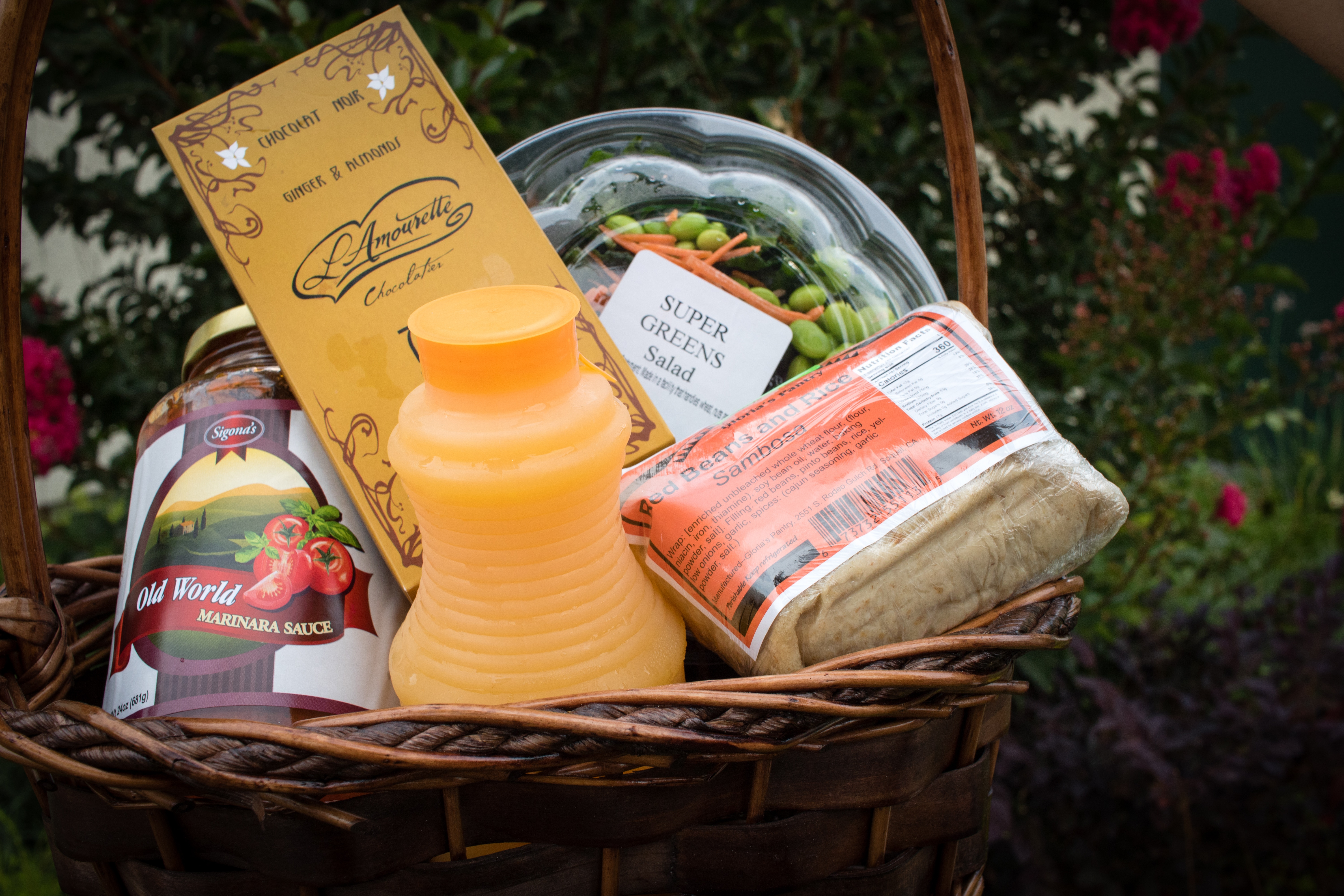 competition prize basket