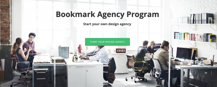 Bookmark Design Agency Program