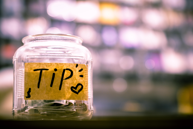 business tip jar