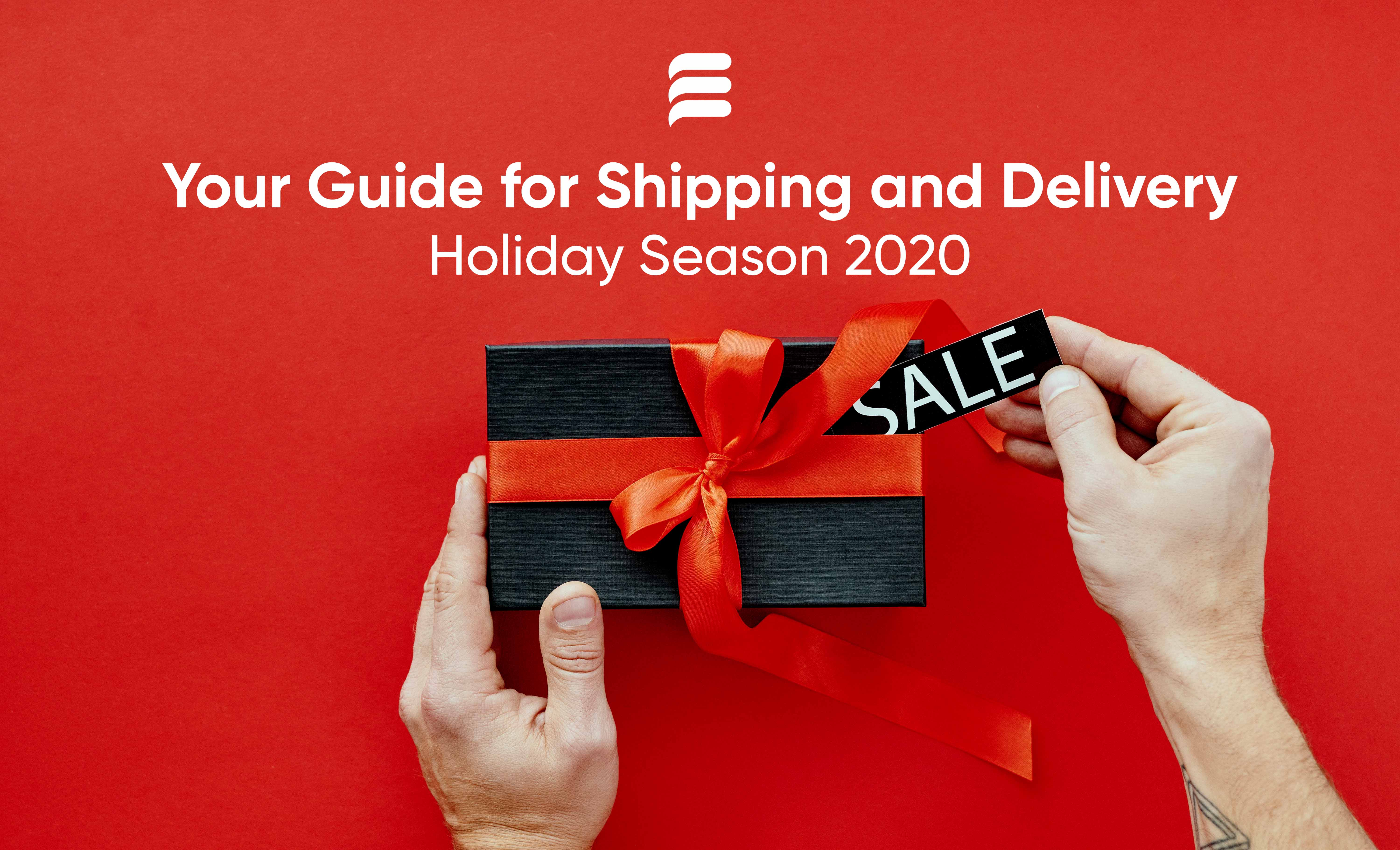 holiday shipping and delivery, shipping and delivery, holidays 2020, ecommerce, online store, curbside pickup