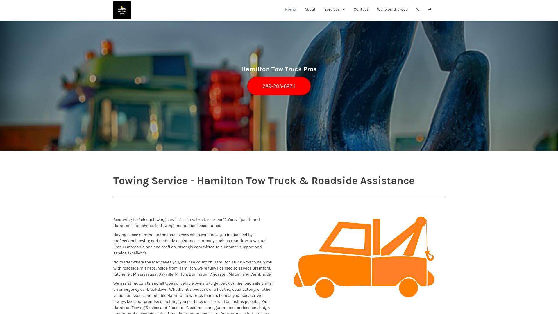 Hamilton Tow Truck Pros