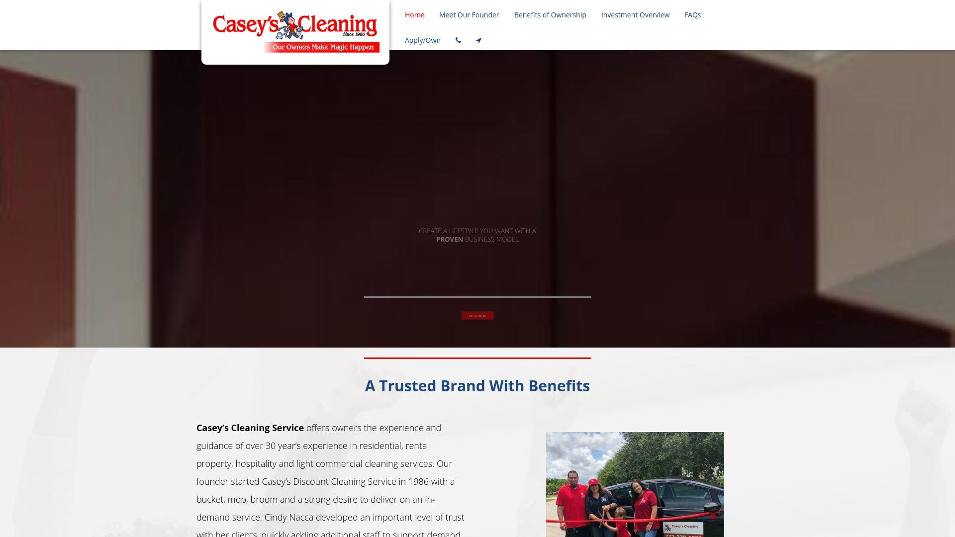 Casey's Cleaning Franchise